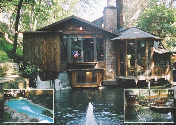 Frank zappa 39 s former house in laurel canyon in los angeles for Cabin los angeles