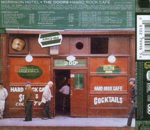 Original Hard Rock Cafe Where Quot Morrison Hotel Quot Album