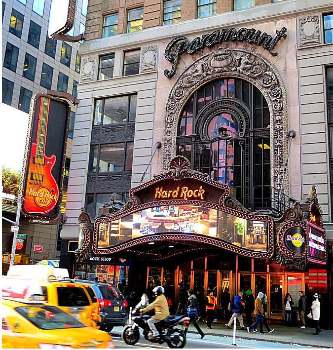 Hard Rock Cafe In Manhattan New York