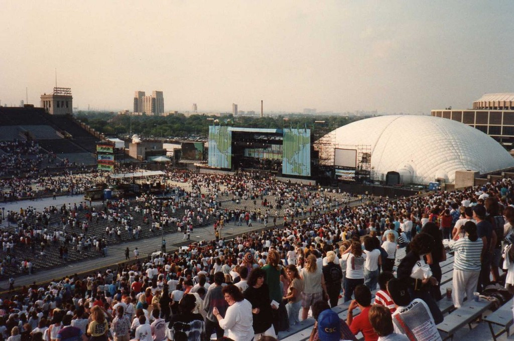 John F Kennedy Stadium Live Aid The Monsters Of Rock